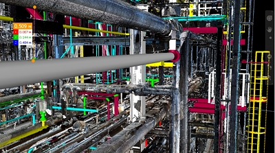3D Laser Scanning Services at TCO Facilities